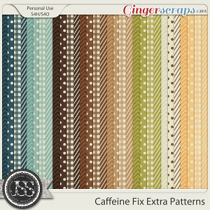 Caffeine Fix Extra Pattern Papers