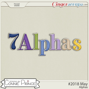 #2018 May - Alpha Pack AddOn by Connie Prince