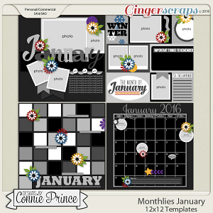 Monthlies January - 12x12 Temps (CU Ok)