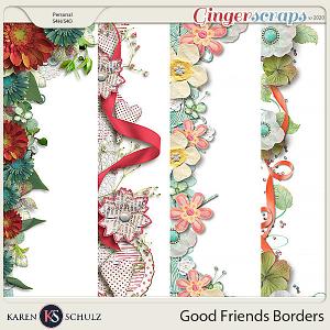 Good Friends Borders by Karen Schulz