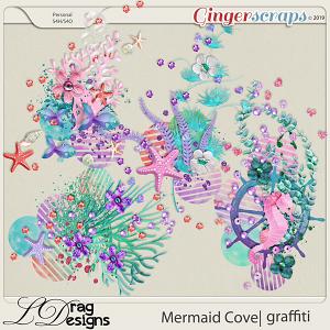 Mermaid Cove: Graffiti by LDragDesigns