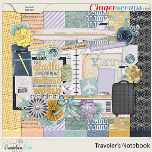 Traveler's Notebook by Dandelion Dust Designs