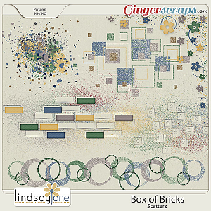 Box of Bricks Scatterz by Lindsay Jane