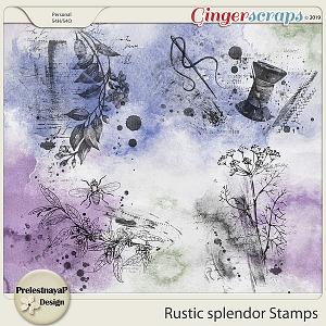 Rustic splendor Stamps