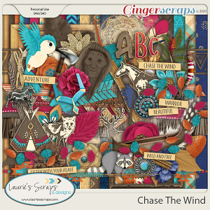 Chase The Wind Page Kit