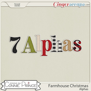 Farmhouse Christmas - Alpha Pack AddOn by Connie Prince