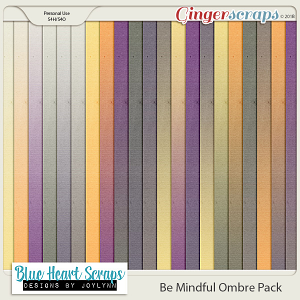 Be Mindful Ombre Paper Pack