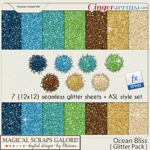 Ocean Bliss (glitter pack)