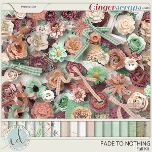 Fade To Nothing Full Kit by Ilonka's Designs