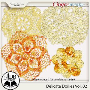 Delicate Doilies Vol 02 by ADB Designs