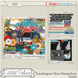 Travelogue New Hampshire - Bundle Pack by Connie Prince