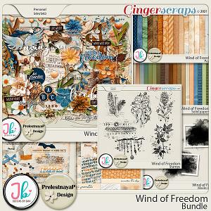 Wind of Freedom Bundle by PrelestnayaP Design and JB Studio