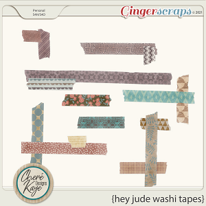 Hey Jude Washi Tapes by Chere Kaye Designs
