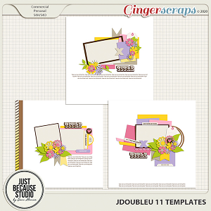 JDoubleU 11 Templates by JB Studio