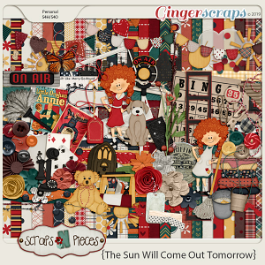 The Sun Will Come Out kit by Scraps N Pieces