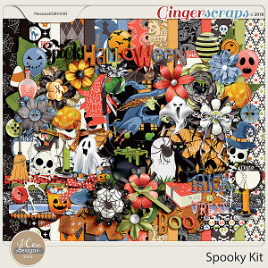 Spooky Kit by JoCee Designs