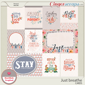 Just breathe - cards