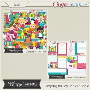 Jumping for Joy- Pinks Bundle