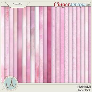 Hanami Paper Pack by Ilonka's Designs