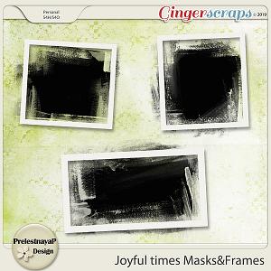 Joyful times Masks & Frames