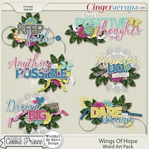 Retiring Soon - Wings Of Hope - Word Art