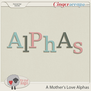 A Mother's Love Alphas by Luv Ewe Designs