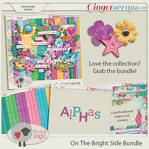 On The Bright Side Bundle by Luv Ewe Designs