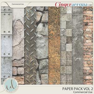 CU Paper Pack Vol 2 by Ilonka's Designs