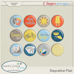 Staycation Flairs