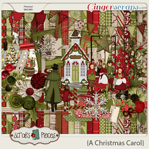 A Christmas Carol kit by Scraps N Pieces