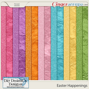 Easter Happenings {Glitter Papers} by Day Dreams 'n Designs