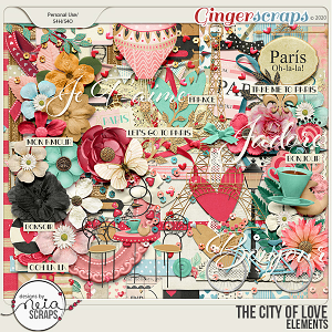 On Location: The City of Love - Elements - by Neia Scraps