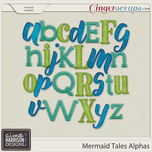 Mermaid Tales Alpha Sets by Aimee Harrison