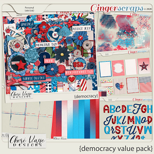 Democracy Value Pack by Chere Kaye Designs