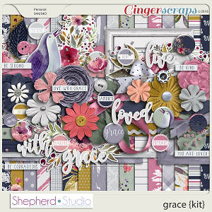 Grace Digital Scrapbooking Kit by Shepherd Studio