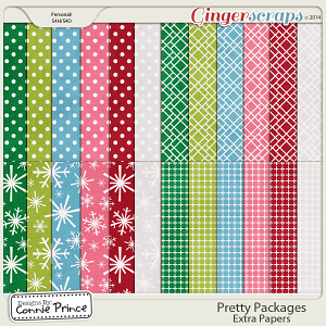 Pretty Packages - Extra Papers