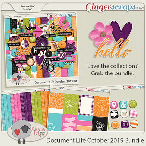 Document Life October 2019 Bundle by Luv Ewe Designs