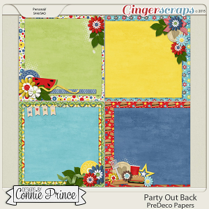 Party Out Back - PreDeco Papers