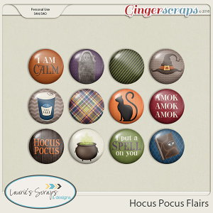 Hocus Pocus Flairs