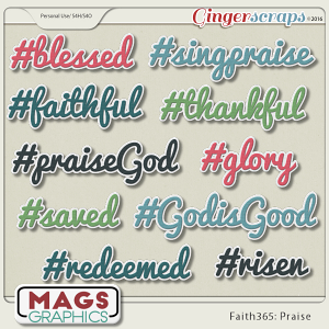 Faith365 Praise HASHTAGS
