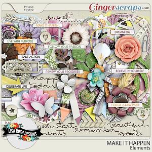 Make it Happen - Elements by Lisa Rosa Designs