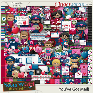 You've Got Mail! by BoomersGirl Designs