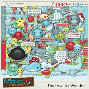 Underwater Wonders by BoomersGirl Designs