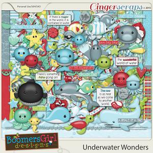 Underwater Wonders by BoomersGirl Designs