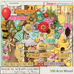 100 Acre Wood (page kit)