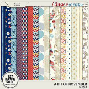 A Bit Of November Papers by JB Studio