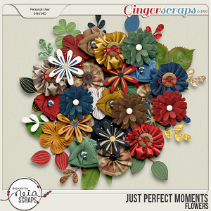 Just Perfect Moments - Flowers - by Neia Scraps