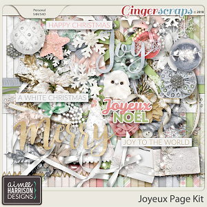 Joyeux Page Kit by Aimee Harrison