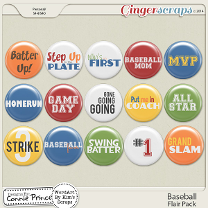 Baseball - Flair Pack