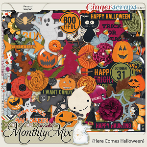 GingerBread Ladies Monthly Mix: Here Comes Halloween